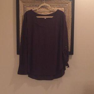 Plum Loft blouse